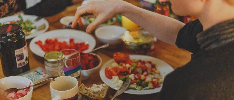 Déjeuner équilibré